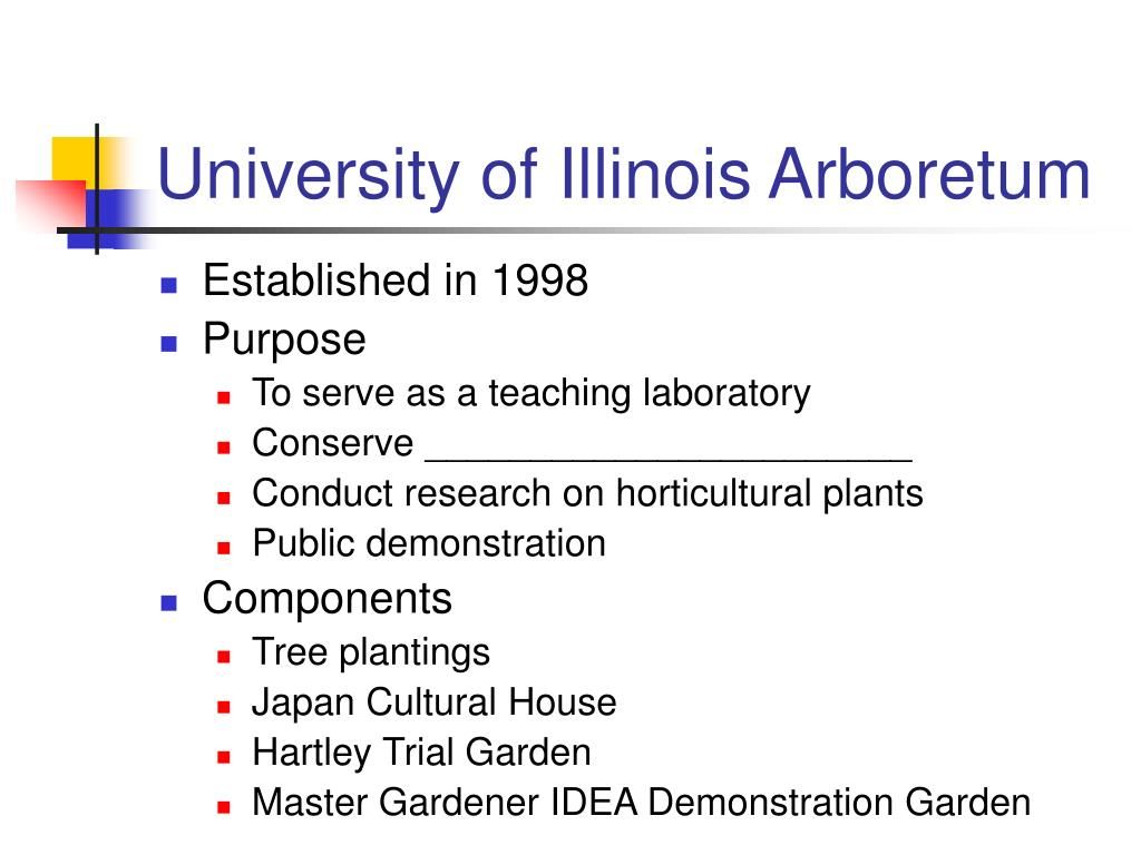University of Illinois Arboretum