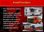 food providers