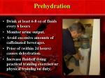 prehydration