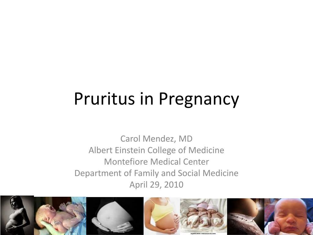 pruritus in pregnancy l.