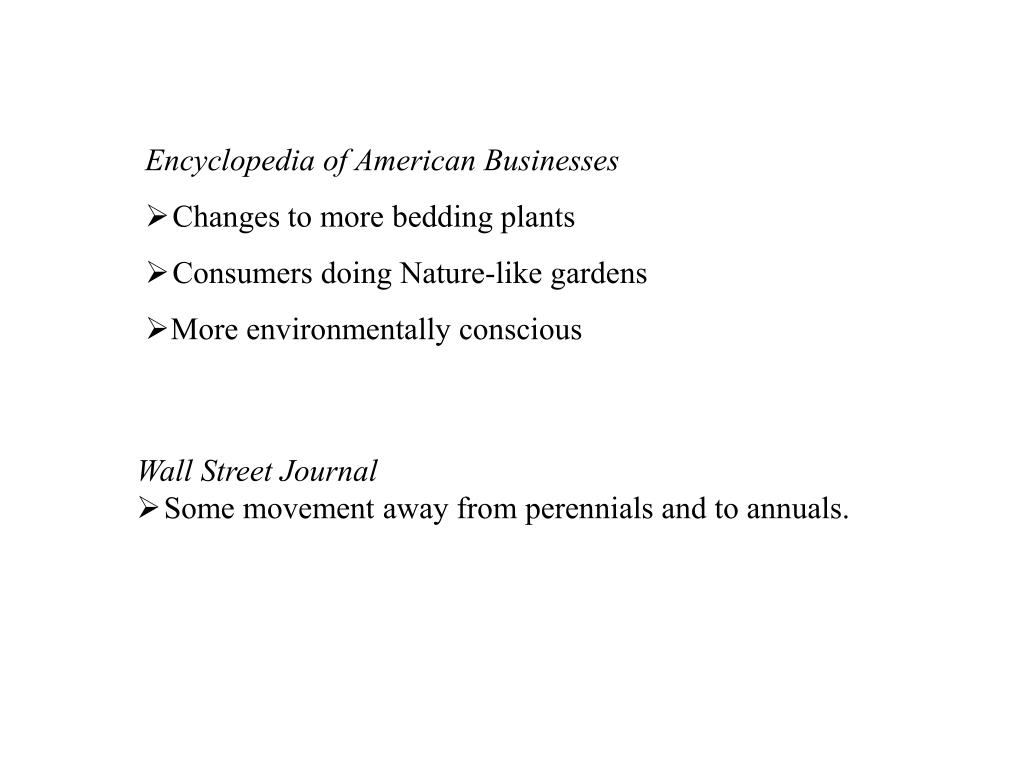 Encyclopedia of American Businesses