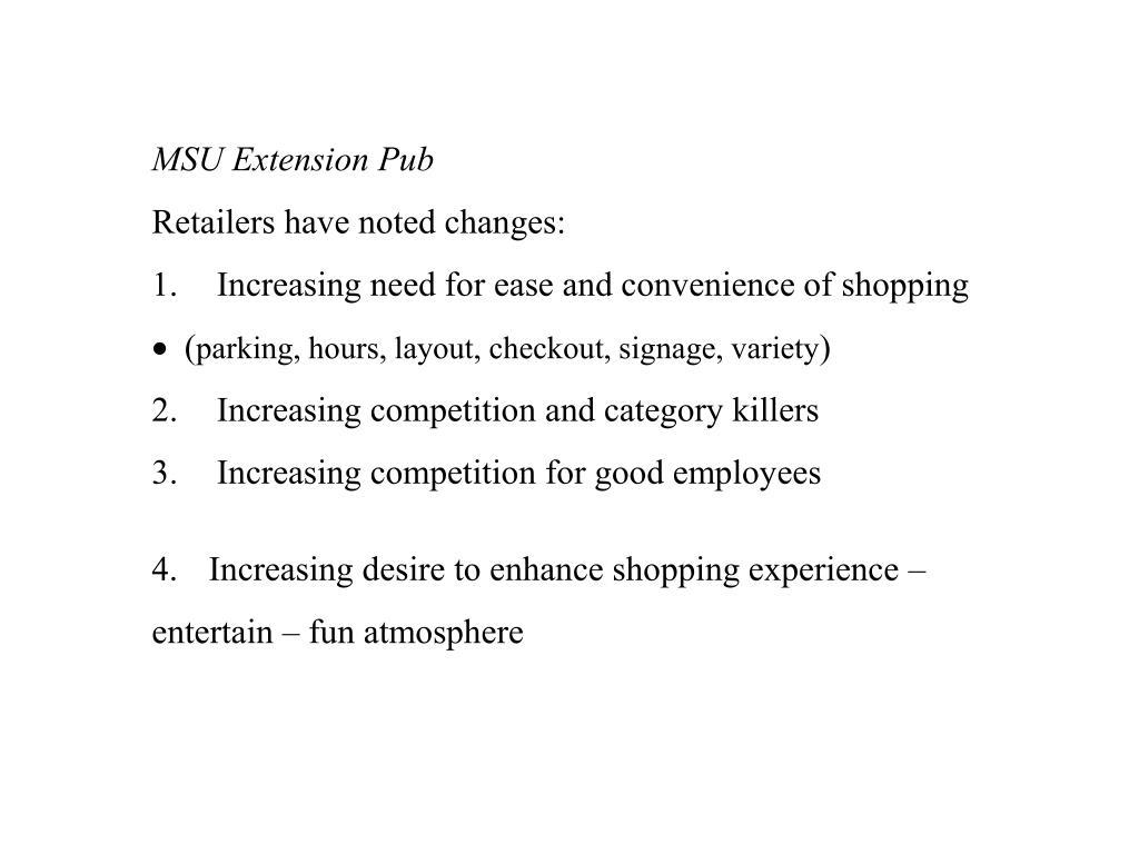 MSU Extension Pub