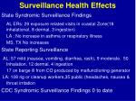 surveillance health effects21
