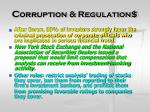 c orruption regulation