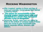 rocking washington