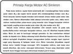 prinsip kerja motor ac sinkron