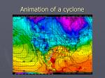 animation of a cyclone