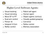 higher level software agents