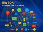big soa analyze the business