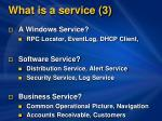 what is a service 3