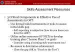 skills assessment resources40
