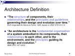 architecture definition