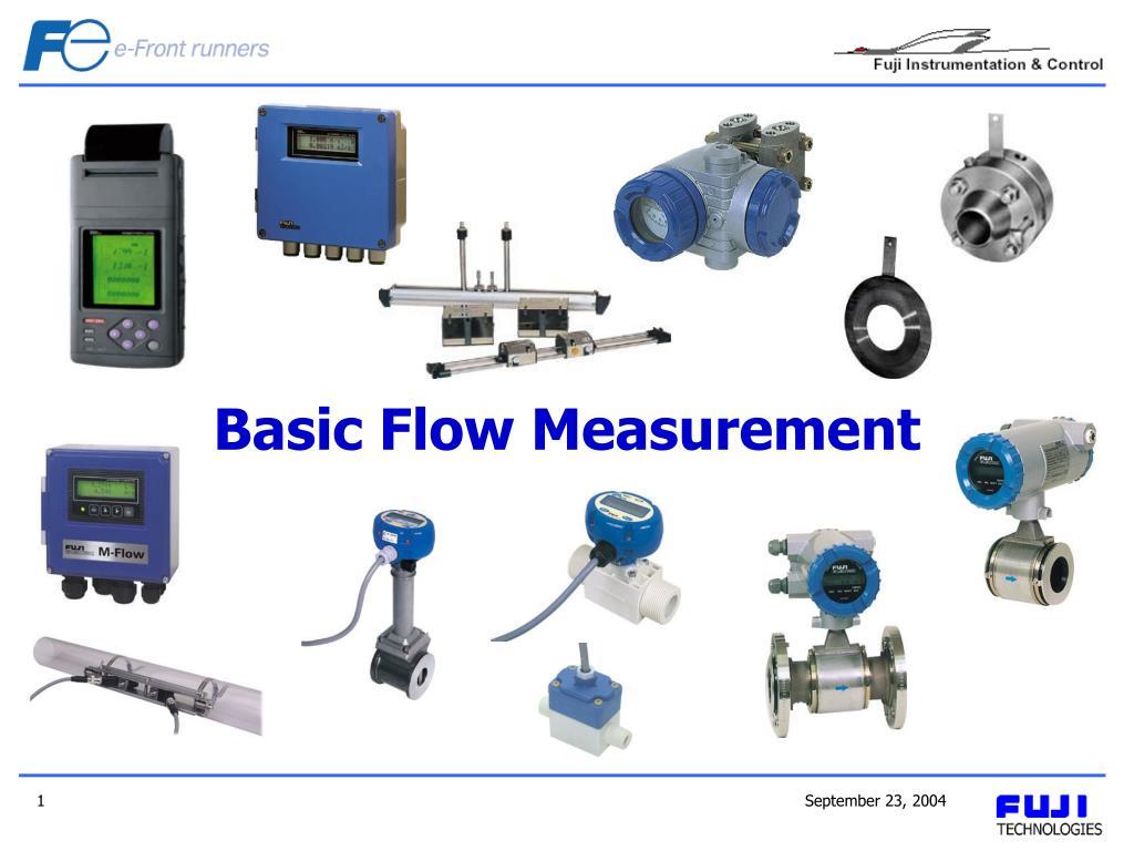 basic flow measurement l.