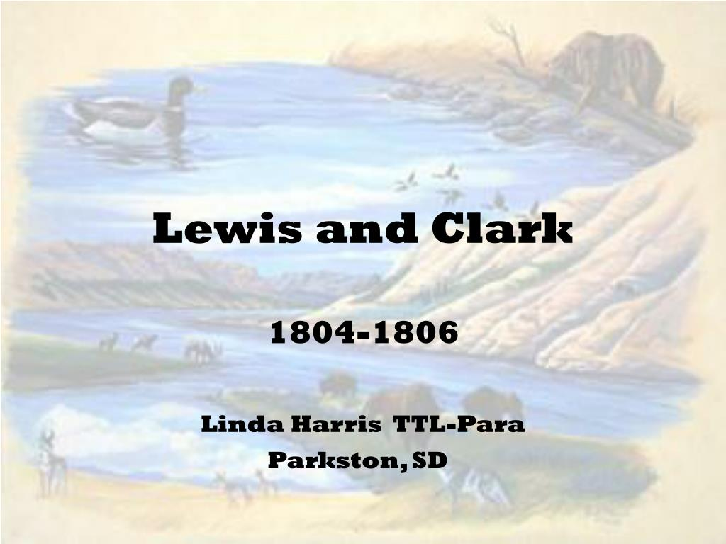 lewis and clark l.