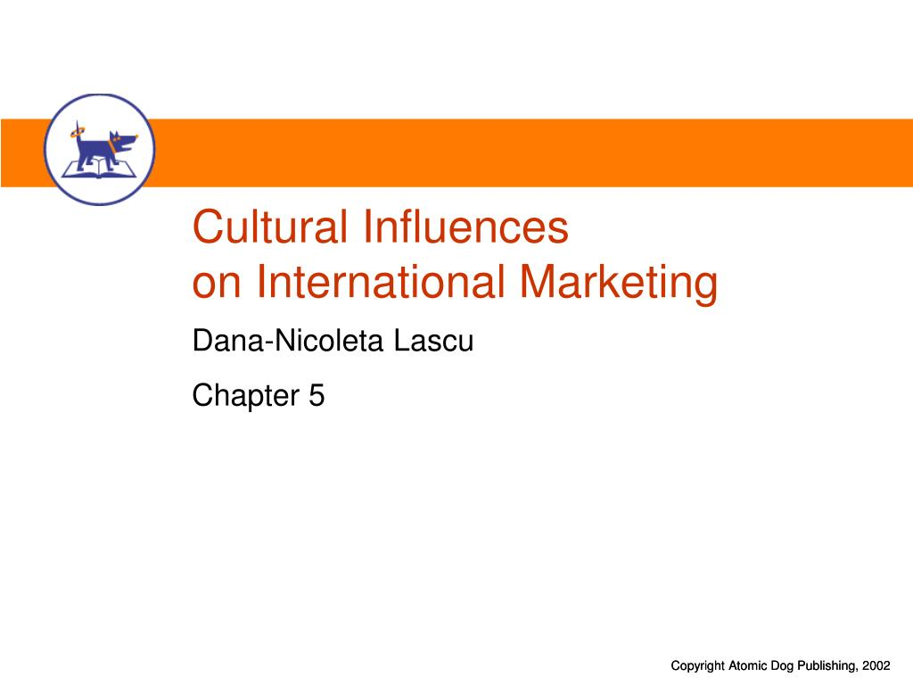 cultural influences on international marketing l.