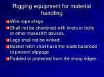 rigging equipment for material handling17