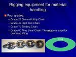 rigging equipment for material handling9