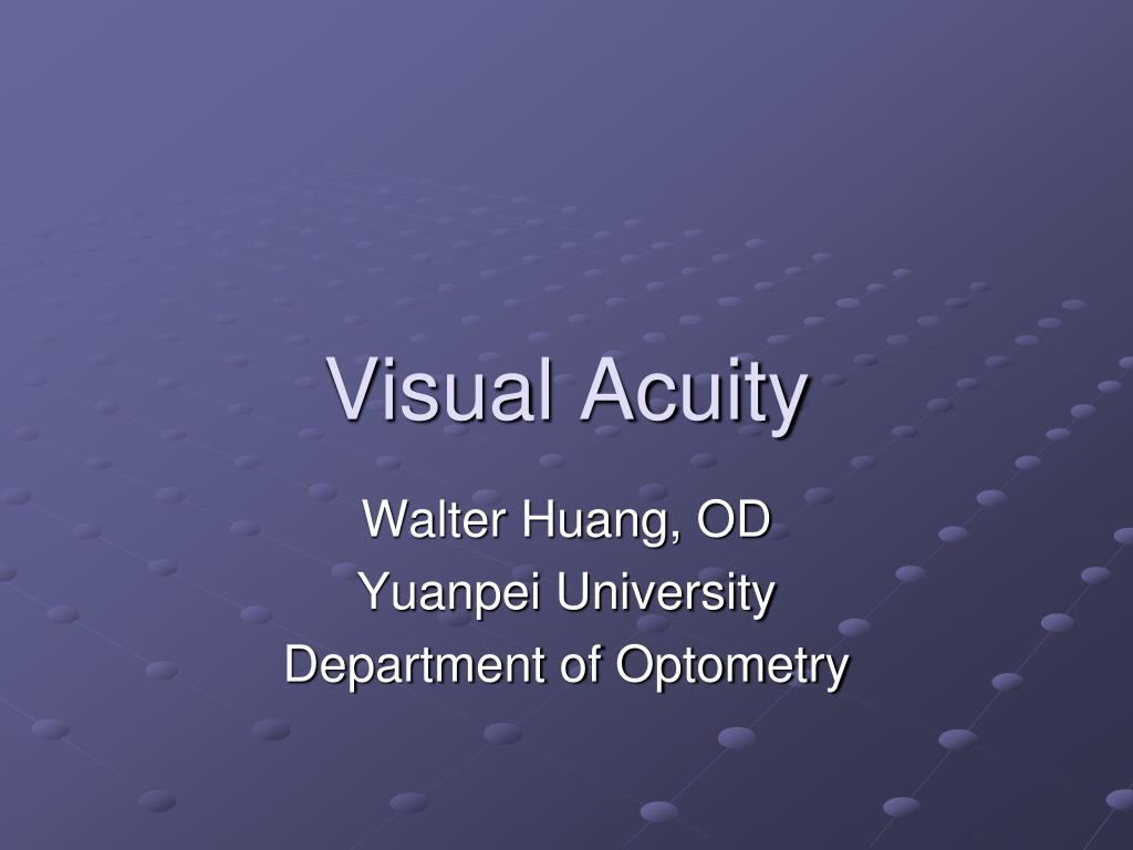 visual acuity l.