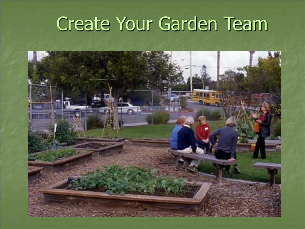 Create Your Garden Team