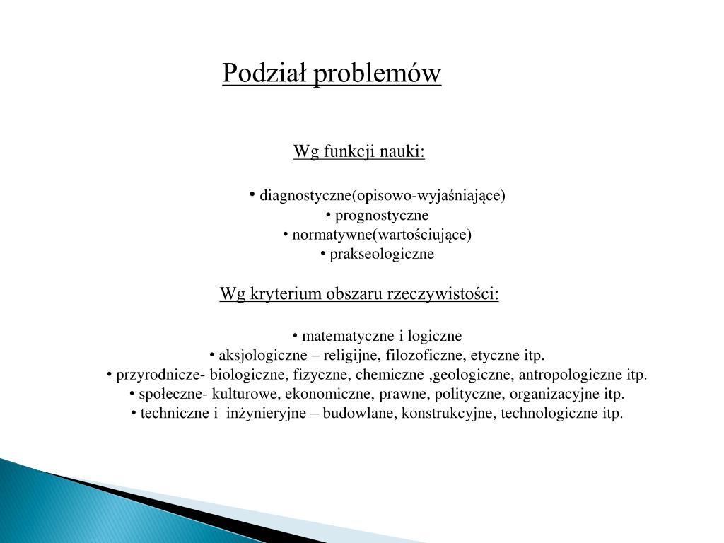 Podział problemów