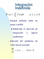 integraci n indefinida