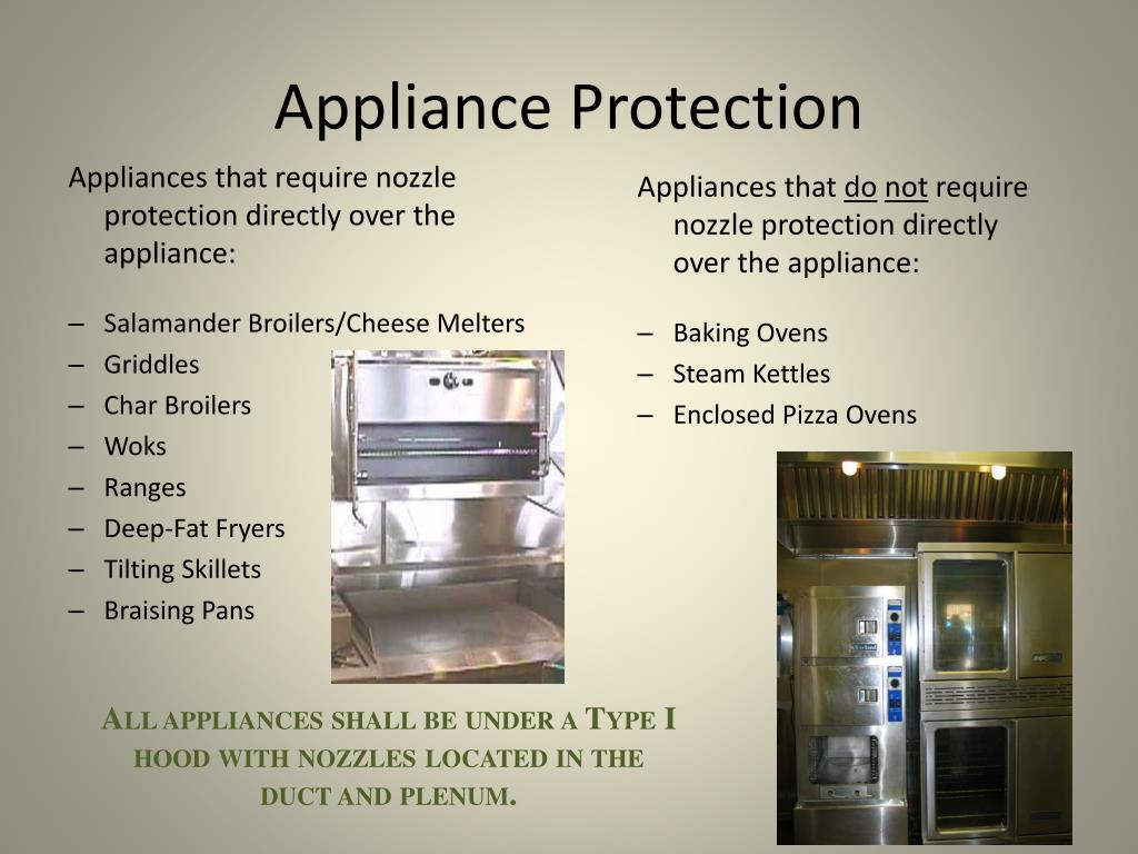 Appliance Protection