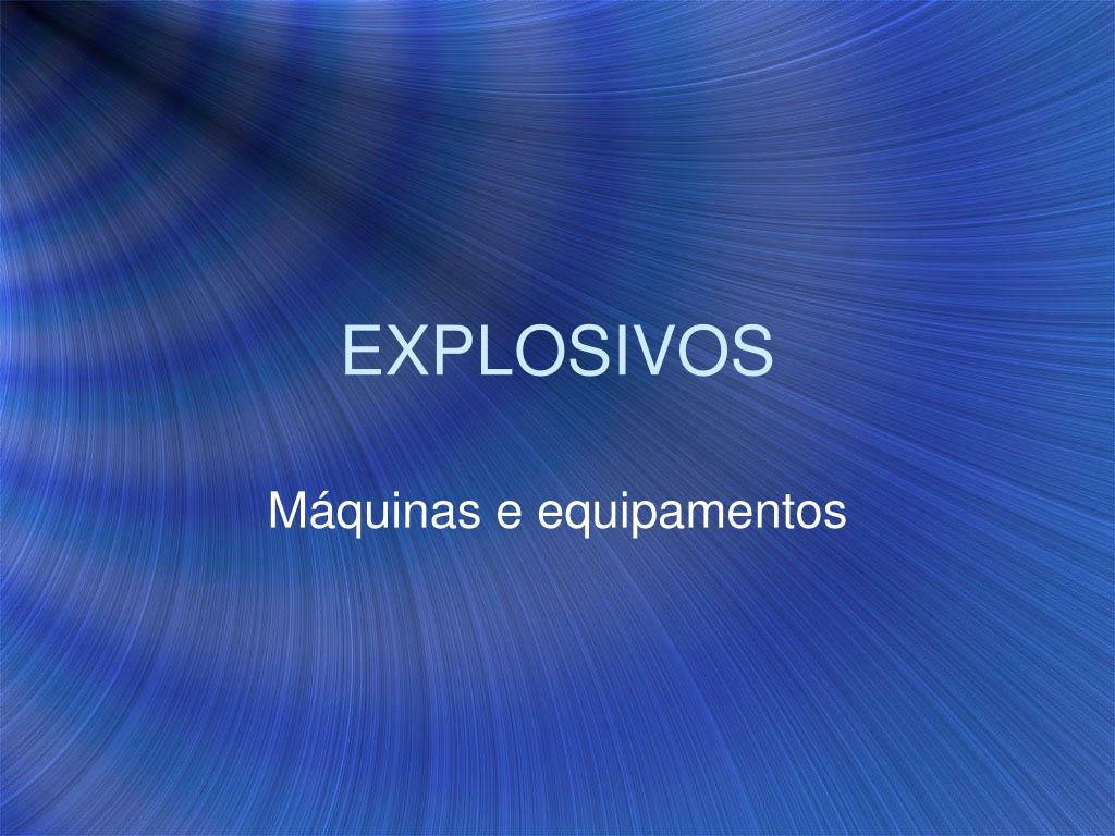 explosivos l.