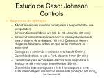 estudo de caso johnson controls41