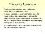 transporte aquavi rio