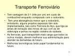 transporte ferrovi rio