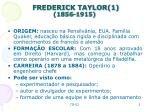 frederick taylor 1 1856 1915