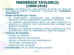 frederick taylor 2 1856 1915