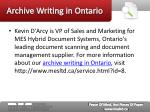archive writing in ontario6