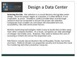 design a data center6