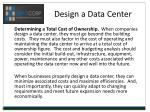 design a data center7