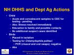 nh dhhs and dept ag actions