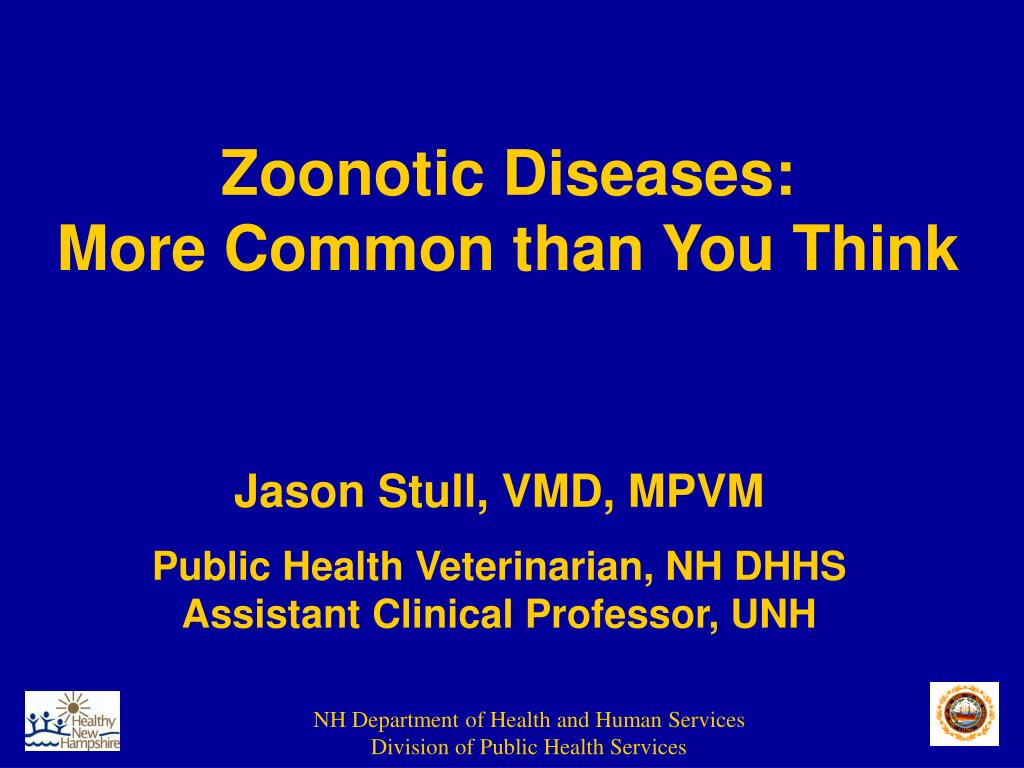 zoonotic diseases more common than you think l.