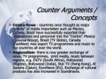 counter arguments concepts