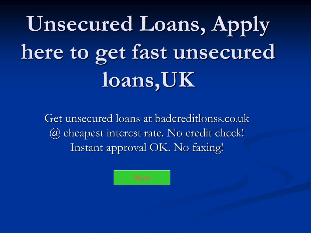 unsecured loans apply here to get fast unsecured loans uk l.