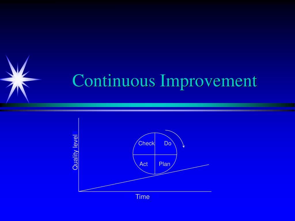 continuous improvement l.