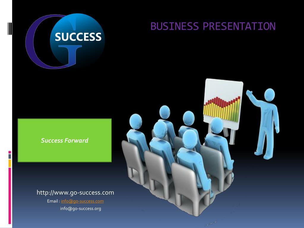 business presentation l.