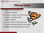 tpm and safety