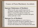 causes of farm machinery accidents11
