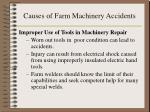causes of farm machinery accidents12