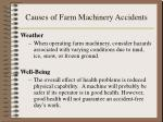 causes of farm machinery accidents14