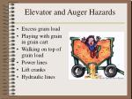 elevator and auger hazards27