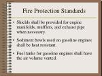 fire protection standards