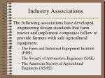industry associations