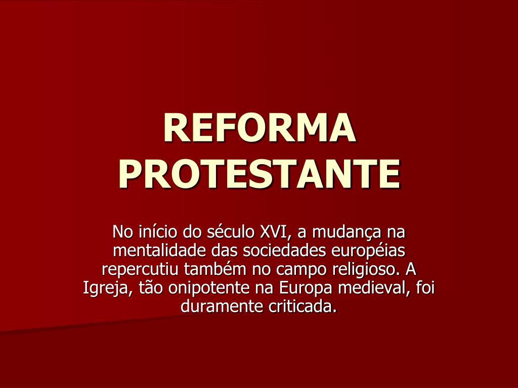 reforma protestante l.