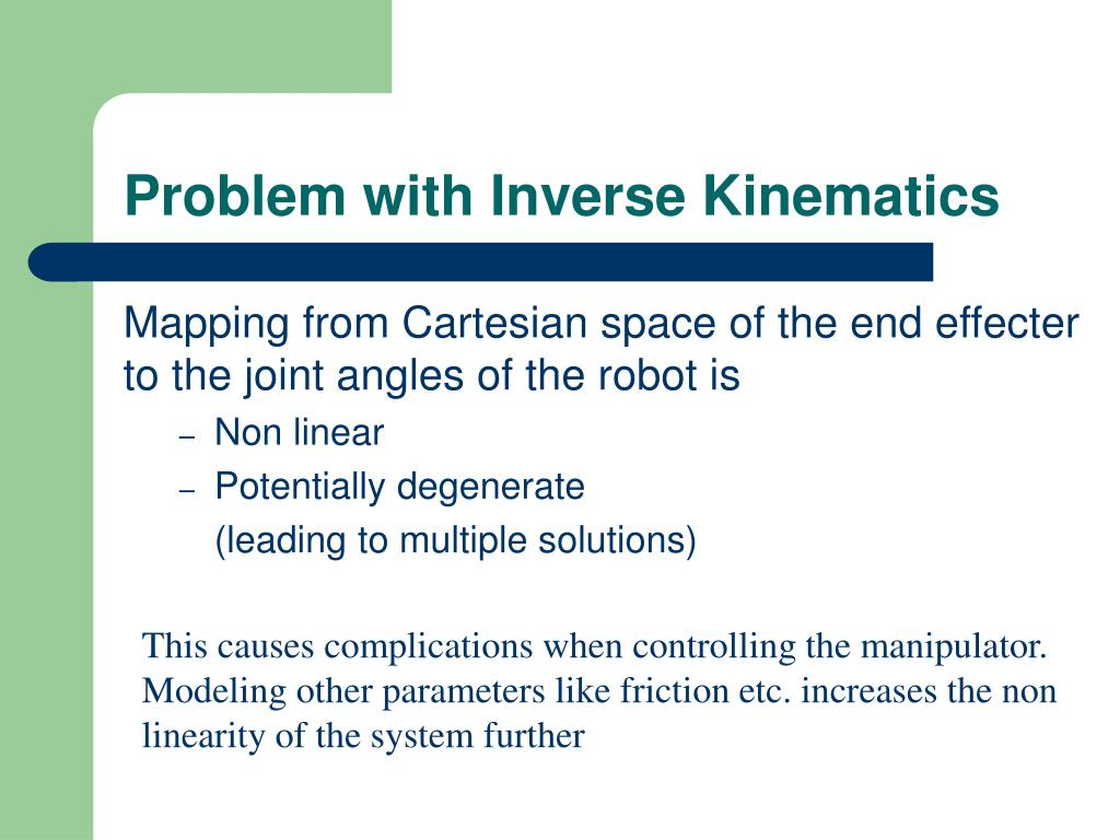 Problem with Inverse Kinematics